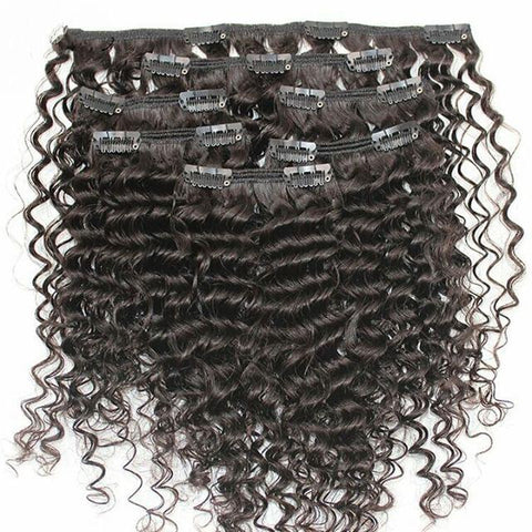 Kinky Clip-In Hair Extensions