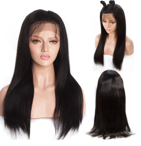 Full Lace Wig Natural Color