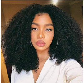 Peruvian Kinky Curly Single Bundle