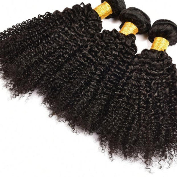 Brazilian Kinky Curly Single Bundles