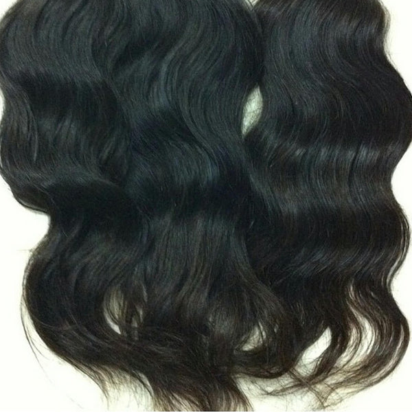 Raw Natural Wavy Bundles