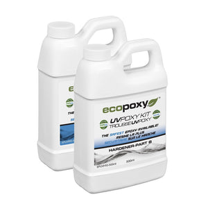 EcoPoxy UVPoxy Epoxy Resin 1 lt kit - Epoxy US