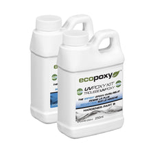 UVPoxy 1 liter kit. Part A resin and Part B hardener from Ecopoxy US