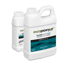 FlowCast casting resin by EcoPoxy 750 ml kit
