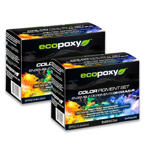 Ecopoxy Color Pigment Kit 8 pc
