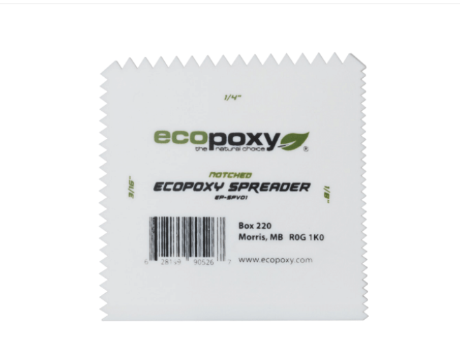 EcoPoxy Notched Spreader 3 Pack