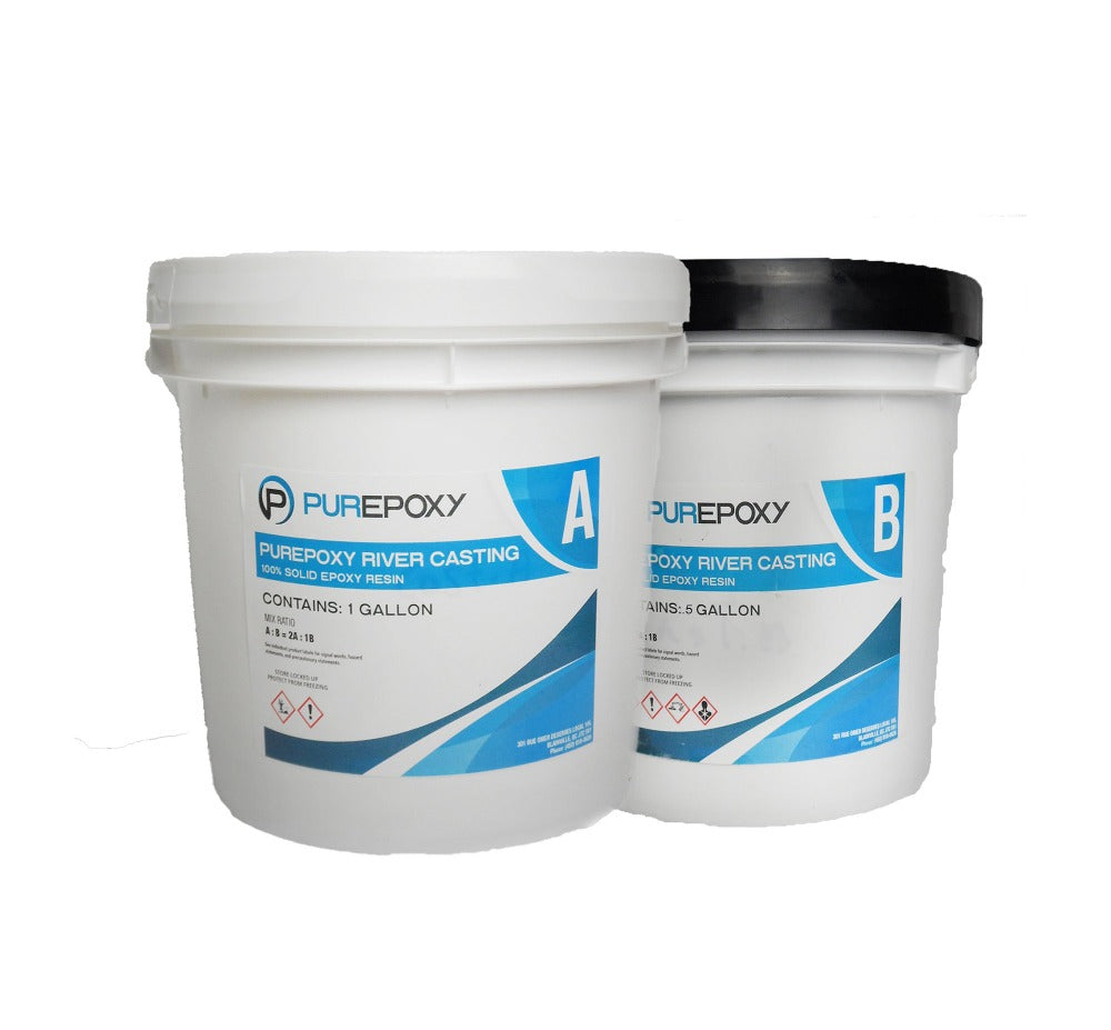 PurEpoxy River Casting Resin | BUY 2 GET 1 FREE 1.5 Gallon Kit