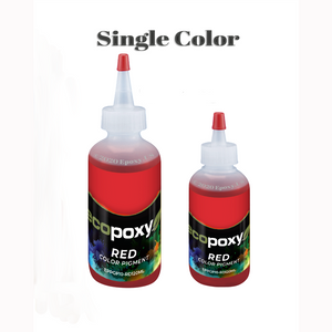 single color EcoPoxy resin pigment in 8 colors and 2 sizes from epoxy.us