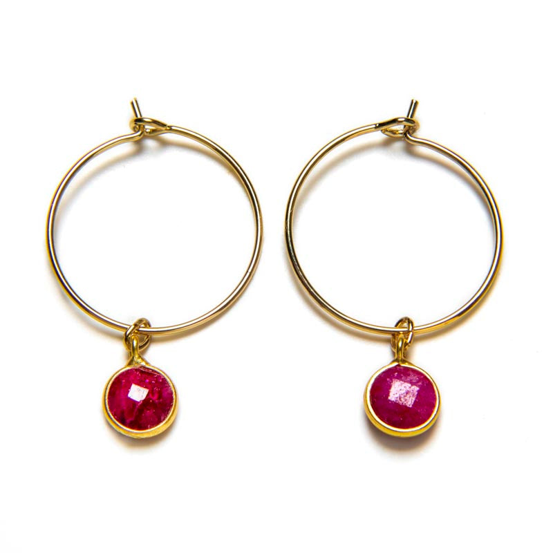 Wrath Garnet Earrings