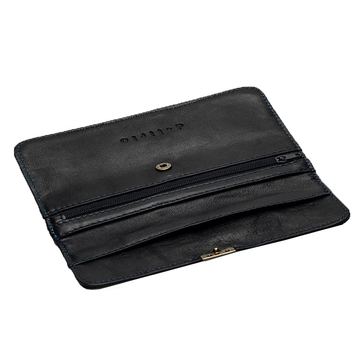 Load image into Gallery viewer, Black Leather Wallet