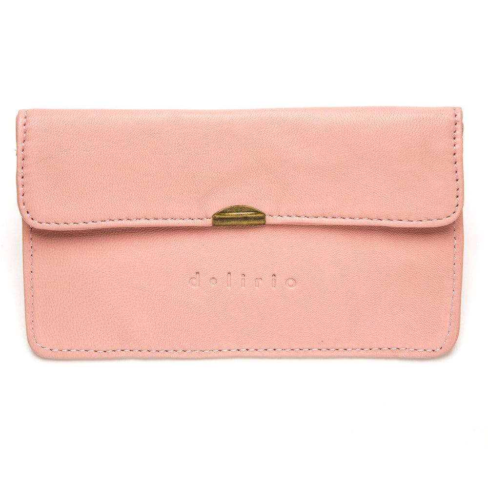 Pink Leather Wallet