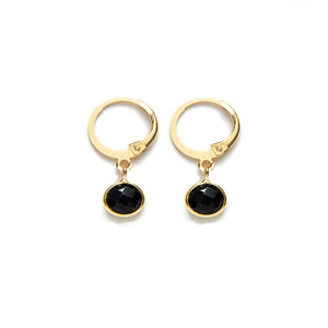 Black Onix Earrings