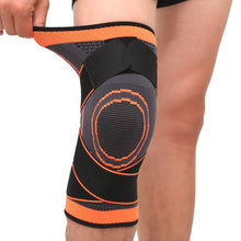 Load image into Gallery viewer, 3D Knee Compression Pad - Orange / S