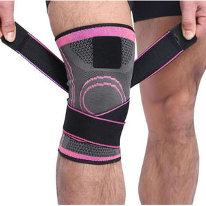 3D Knee Compression Pad - Pink / XXXL