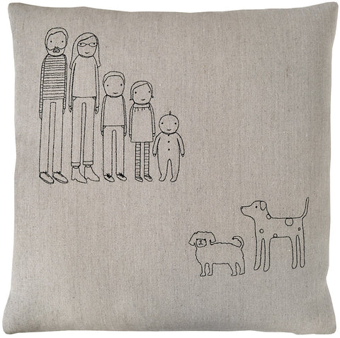 family pillow-offset