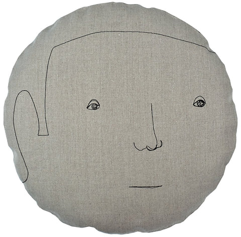 round face pillow