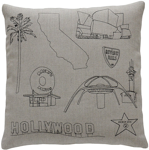 places- los angeles pillow