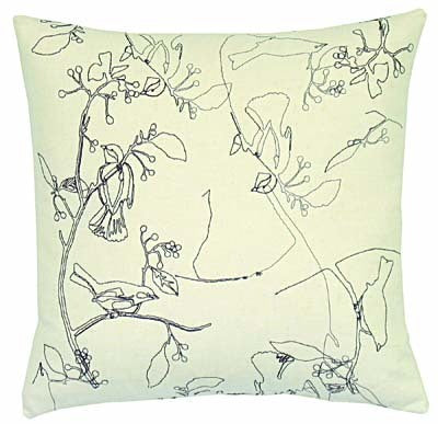 all over branch pillow