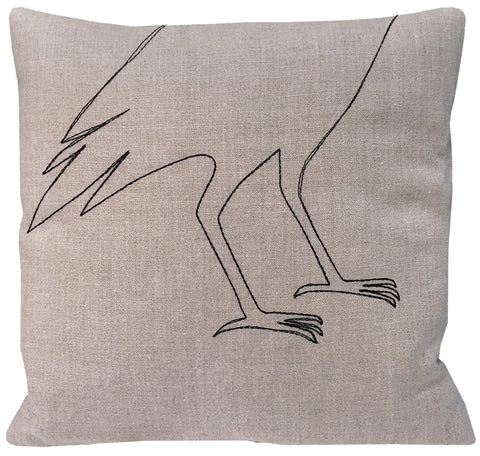 Bird Feet Pillow