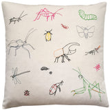 bugs of the world pillow