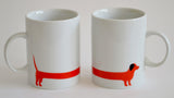 red dog 2 mug set