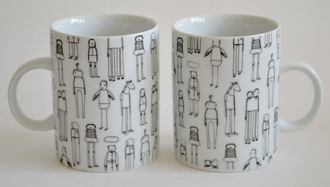 everyday people 2 mug set