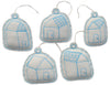 ornament set- houses