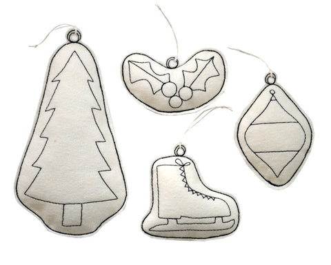 ornament set- tree group