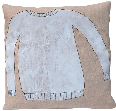 Sweater Pillow, Painted