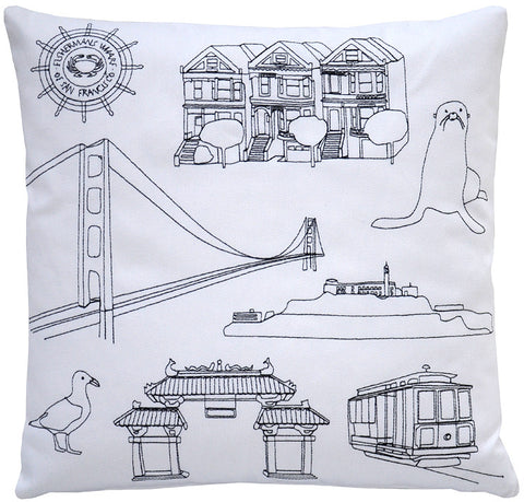 places- san francisco pillow