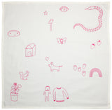 Memory Lane Towel PINK
