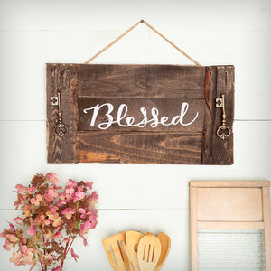 Hand-Lettered Rustic Decor