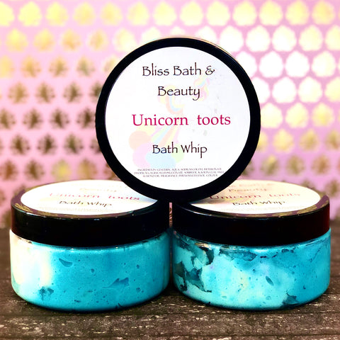 Unicorn Toots Bath Whip/Shower Frosting