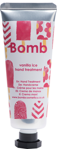 Vanilla Ice Hand Treatment