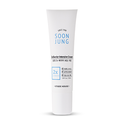 soon jung 2X barrier intensive cream 30ml