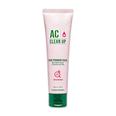 AC clean up pink power mask