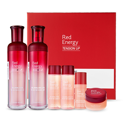red energy tension up 2-pcs set