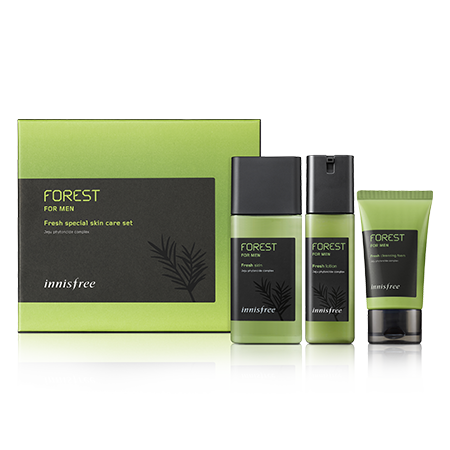 Forest for men fresh special skin care set