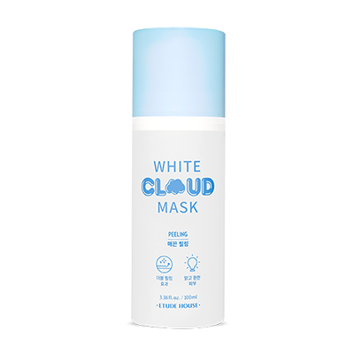 white cloud mask peeling