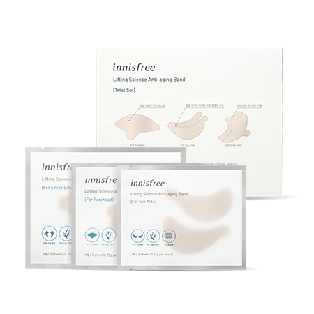 Innisfree Lifting Science Anti-Aging Band Trial Set 3ea