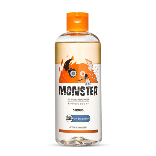 monster oil cleansing water 480ml