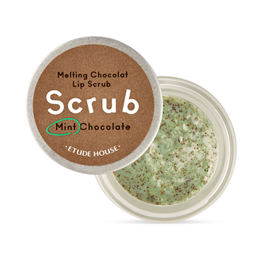 Etude House Melting Chocolate Lip Scrub (Mint Chocolate) 12g