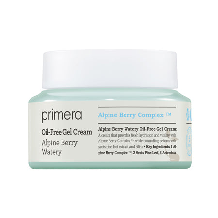 Primera Alpine Berry Watery Oil - Free Gel Cream 50ml