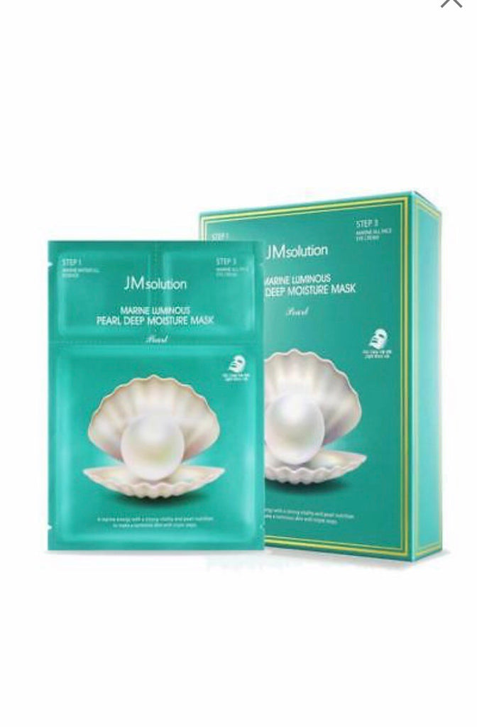 JM Solution Marine Luminous Pearl Deep Moisture Mask 30ml* 10ea