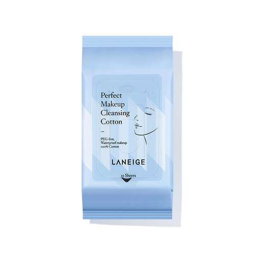 Laneige Perfect Makeup Cleansing Cotton 35pcs