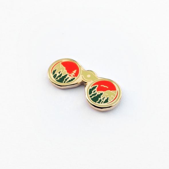 Sight Enamel Pin