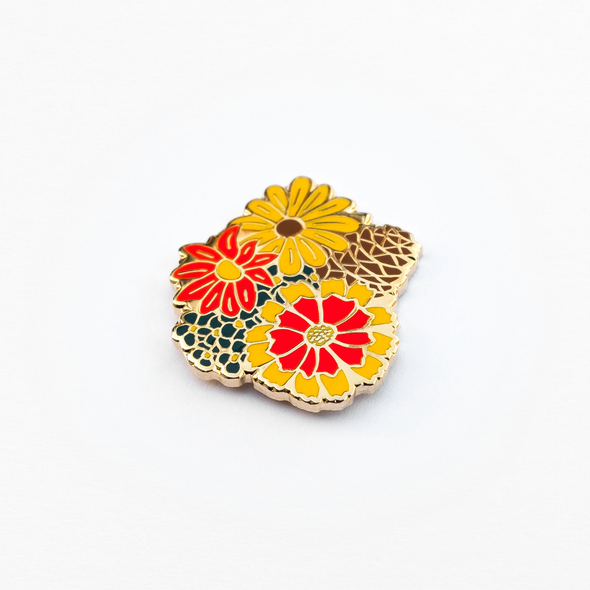 Smell Enamel Pin