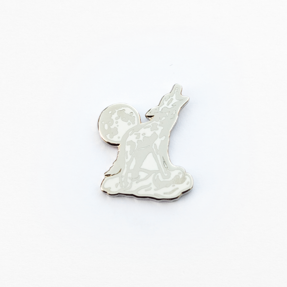 Sound Enamel Pin