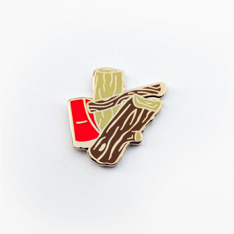 Touch Enamel Pin