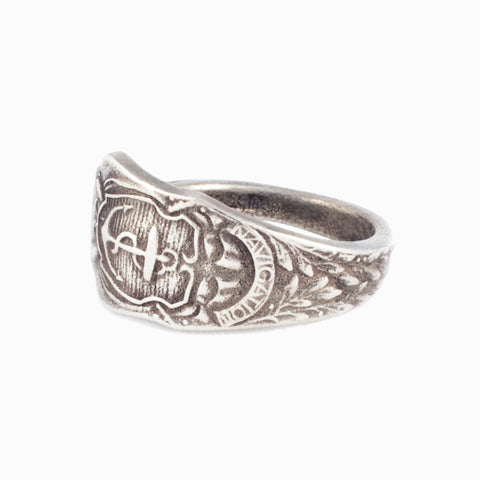 Anchor Spoon Ring